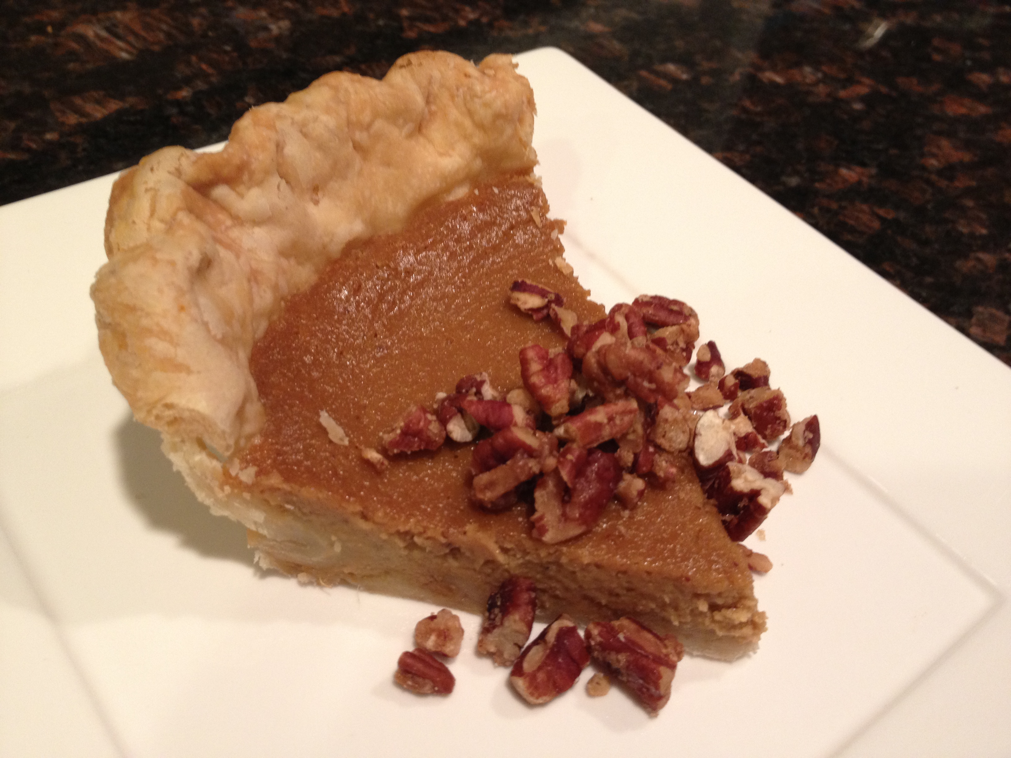 Sweet Potato Bourbon Pie with Maple-Candied & Salted Pecans ...