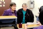 Barbara Vining and Blue Niis. Photo: Bill Wagner/Daily News